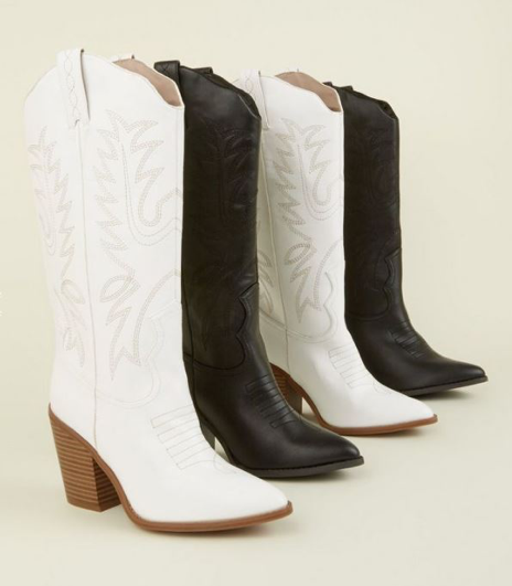 New Look Limited Edition Knee High Western Boots